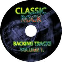 CLASSIC ROCK GUITAR BACKING TRACKS 4x AUDIO CD SET BEST OF GREATEST HITS MUSIC