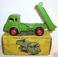 MADE FRANCE OLD CIJ CAMION RENAULT FAINEANT BENNE BASCULANTE REF 3/80 1/55 BOX