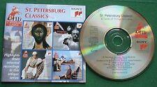 St Petersburg Classics Tchaikovsky Rimsky-Korsakov Borodin + CD