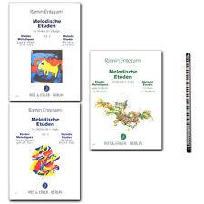 Melodische Etüden für Violine Ramin Entezami - PianoBleistift - 9790013000746