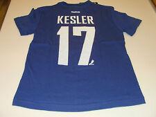 2013 Vancouver Canucks Ryan Kesler Name Number T Shirt M Rbk NHL Hockey Youth