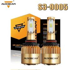 Auxbeam CSP 9005 HB3 LED Headlight Bulbs  Kit High Low Beam 72W 6500K 8000LM US