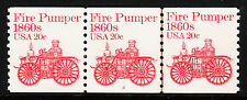 Usa — Scott 1908 — Fire Pumper — Pnc Ps3 #2 — With Gripper Crack Plate Variety