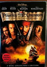 Pirates of the Caribbean - The Curse of the Black Pearl (DVD, Disney) Bilingual