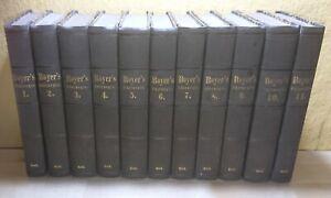 Komplett 11 Bände Handbuch der Chirurgie Baron Alexis Boyer 1834-1841 Medizin