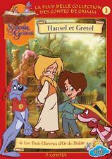 Simsala Grimm V.3 Hansel et Gretel & Les Trois Cheveux d'Or du Diable -DVD -NEUF