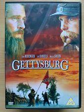Gettysburg DVD 2003 American Civil War Mini Series Drama Classic