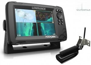 LOWRANCE HOOK Reveal 7 con Trasduttore 50/200 HDI basemap - art. 000-15516-001