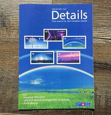 """2015 UNESCO World Heritage Sites ERROR Stamp  """"Details"""" Brochure"""