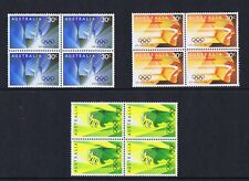 Australian Decimal Stamps 1984 Los Angeles Olympic Games (Set 3), Blocks 4 MNH