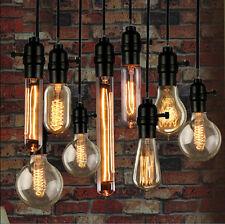Ampoule Filament Carbone E27 40W Retro Edison Lampe Bulb Titulaire Douille Noël