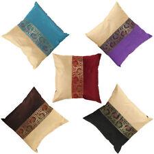 Brocade Handmade Square Decorative Cushions & Pillows