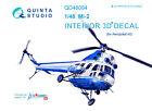 Quinta studio's QD48084 1/48 Mi-2 Interior 3D decal for Aeroplast kit