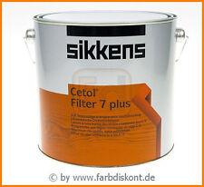 Sikkens Cetol Filter 7 plus 2,5 ltr 045 mahagoni -NEU-