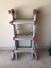 13Ft 1A Little Giant Ladder Classic w/ Work Platform & Leg Stabilizer