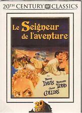 DVD LE SEIGNEUR DE L'AVENTURE bette davis richard todd joan collins NEUF
