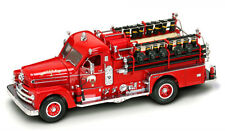 1958 Seagrave 750 Fire Engine Truck Red with Accessor  1/24 Diecast Model Truck