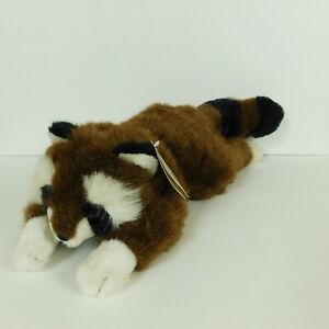 Russ Berrie Caress Soft Pets Rolly Raccoon Plush 18 inch