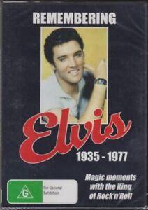 ELVIS PRESLEY - REMEMBERING ELVIS 1935 - 1977 - Rare DVD Aus Stock New