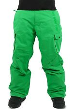 Claw Hammer Ski Pants Snowboard Trousers Salopettes Skiing Snowboarding Snow Classic Green M