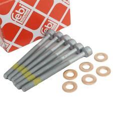 6 Zylinderschraube 6 Dichtringe Einspritzdüse Injektor für Mercedes Smart CDI