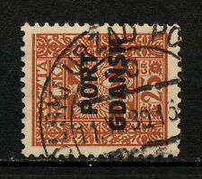 (Yyag 962) Poland 1929 Used Port Gdansk Danzig