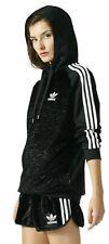 Adidas Originals Adicolor Women's Trefoil Hoodie Hooded Jacket Hoody FX Fur Ora