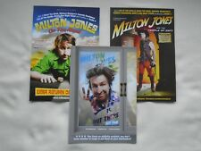 MILTON JONES Live theatre events 2013/15/17 UK Tours Promotional tour flyers x 3