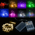 Hot 20 LED BATTERY OPERATED MICRO WIRE STRING FAIRY XMAS PARTY WEDDING LIGHT
