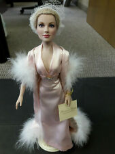 "Franklin Mint Doll Princess Grace Vinyl Hard To Find 16"" Redressed In Gene Rare!"