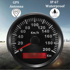 GPS Tachometer IP67 Wasserdicht 200KM/H Auto Motorrad Tacho Kilometerzähler