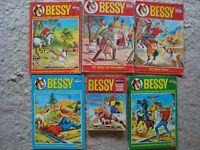 !!! BESSY COMICS - SAMMLUNG - EINZIGARTIG - BASTEI - AUS PRIVATSAMMLUNG !!!