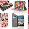 PU Cuero Funda Tapa Cartera para HTC One M9 (2015) Tarjeta Carcasa Piel Cover