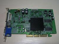 ATI RADEON 9200 AGP 128MB DDR VGA/DVI/TV-OUT Video Graphics Card Test OK!
