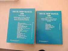Ford Medium heavy duty truck b c f 600 -8000 series 1989 Service Shop manual