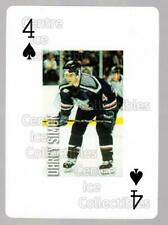 2011-12 Grand Rapids Griffins Playing Card #43 Darcy Simon