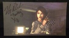 Artwork from The Walking Dead game by Telltale Games SIGNED by Nicole Vigil