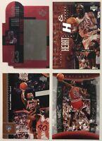 Upper Deck 1996-2004 Michael Jordan Basketball Cards #s 16 23 26 12 Mixed Lot