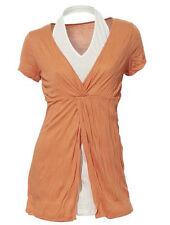 Mehrfarbige Damenblusen,-Tops & -Shirts mit Polyester für Freizeit ohne Mehrstückpackung