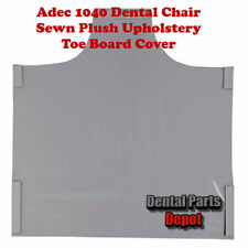 Adec 1040 Sewn Upholstery Dental Chair Toe Cover (DCI #2958)