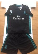 2017/18 Children Kids Youth Real Madrid Home Soccer Jersey Shorts Set s.10-12
