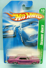 1427 HOT WHEELS / CARTE US / TREASURE HUNTS 2008 / BUICK RIVIERA 1964 1/64