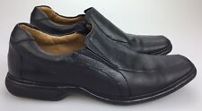 """KENNETH COLE REACTION """"Take in Stride"""" Black Leather Slip On Loafers Men's 11 M"""