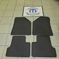 Jeep Cherokee 2014-2015 Slush mat set front & rear all weather mats OEM NEW