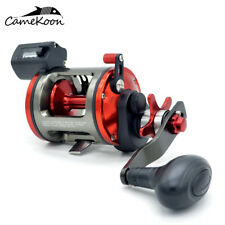 CAMEKOON Saltwater Level Wind Fishing Reel Boat Trolling Reel With Line Counter