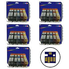 25 encres compatibles-Cartouches d'encre Imprimante Pour Canon Pixma MX870 [ 520/521 ]