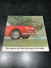 1963 Triumph Spitfire Sales Brochure