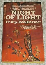 Philip Jose Farmer, NIGHT OF LIGHT, Vintage 1972 Science Fiction Paperback