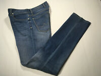 "Alberto Brand NEW ""Pipe"" Medium Wash Denim Regular Slim Fit Jeans Sz 31-34"