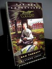 Dr. Doctor Who Bad Therapy by Jones SC New Adventures LkNew Never Read